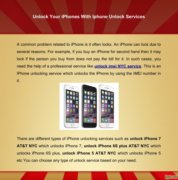 unlock your iphones with iphone unlock services n.