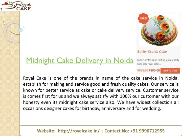 midnight cake delivery in noida n.