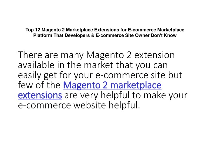 top 12 magento 2 marketplace extensions n.