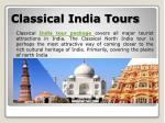 classical india tours