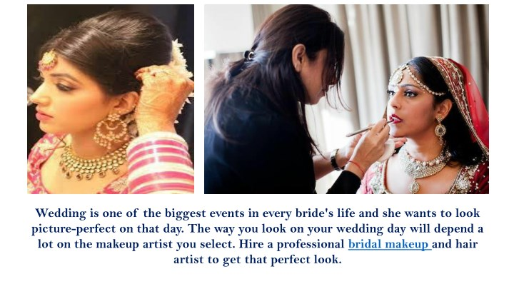 Wedding is one of the biggest events in every bride's life and ...