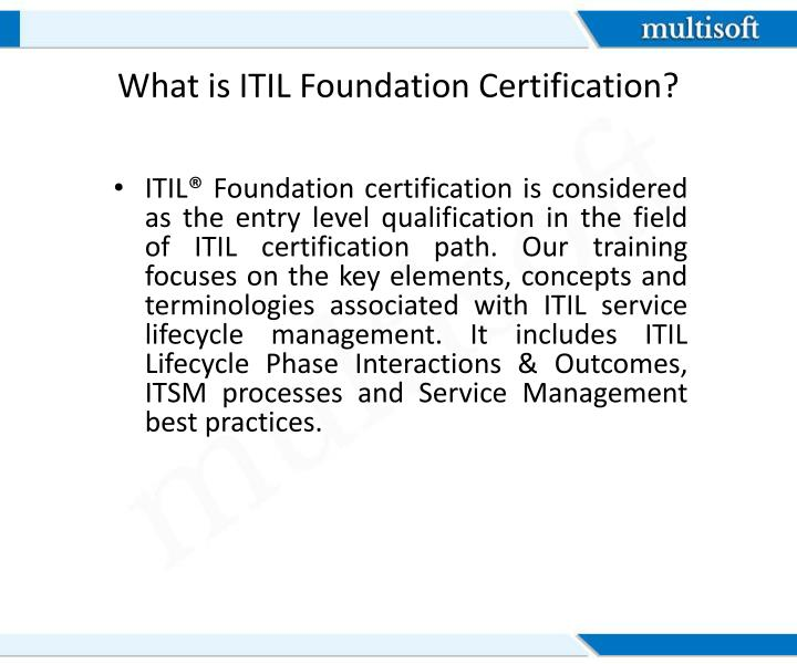 PPT - ITIL Foundation Certification PowerPoint Presentation - ID:7591948