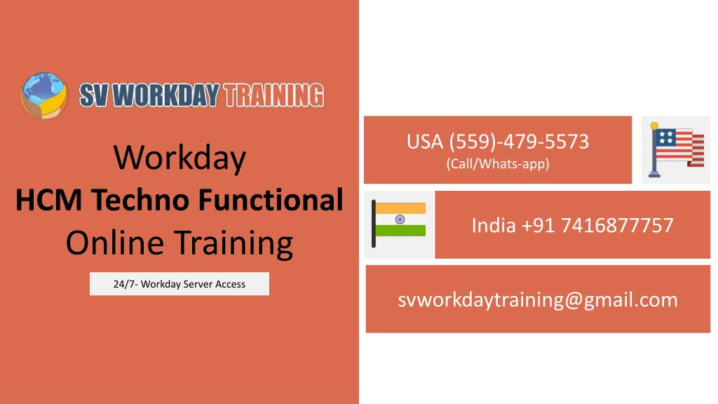 Ppt Real Time Workday Hcm Techno Functional Online Training Sv