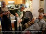 muslim members of the elhariry family l r mother