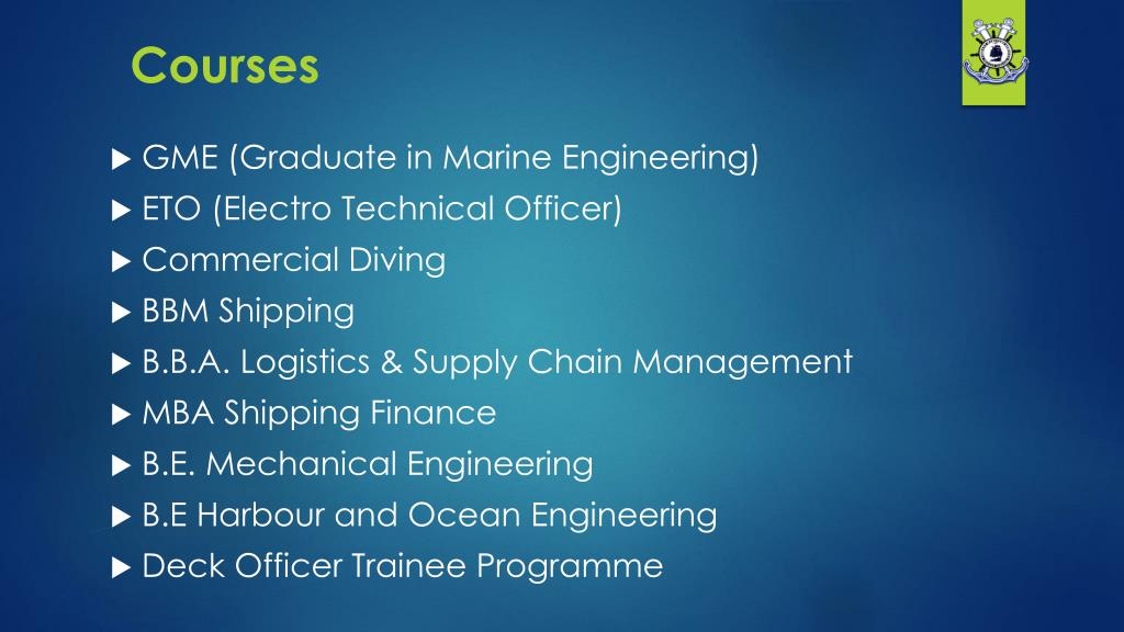 PPT - Join Merchant Navy after 10th, 12th PowerPoint