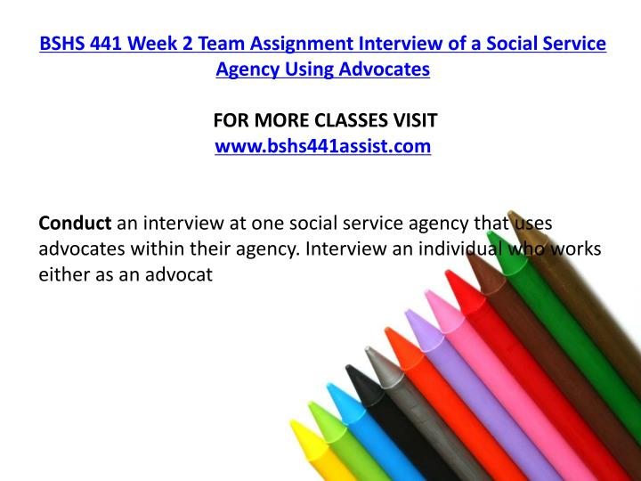 bshs 441 week 2 individual assignment Bshs 441 week 3 individual assignment paper on the challenges of being an advocate and neutral bshs 311 week 2 individual assignment self managementbehavioral.