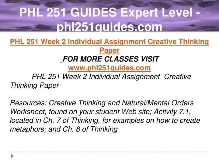 creative thinking and natural mental orders