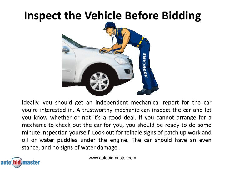Mechanic Inspect Used Car Before Buying