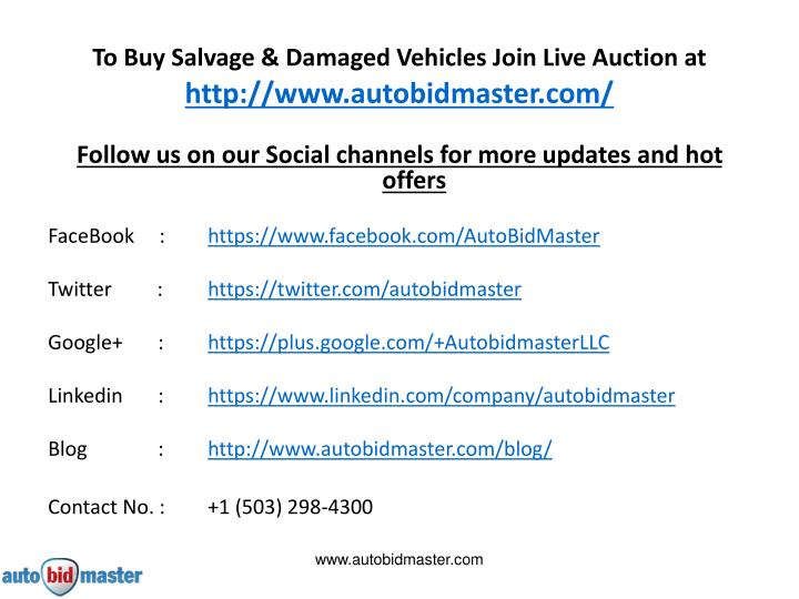 Ppt a definitive guide to buying used cars online for How to bid at a live auction