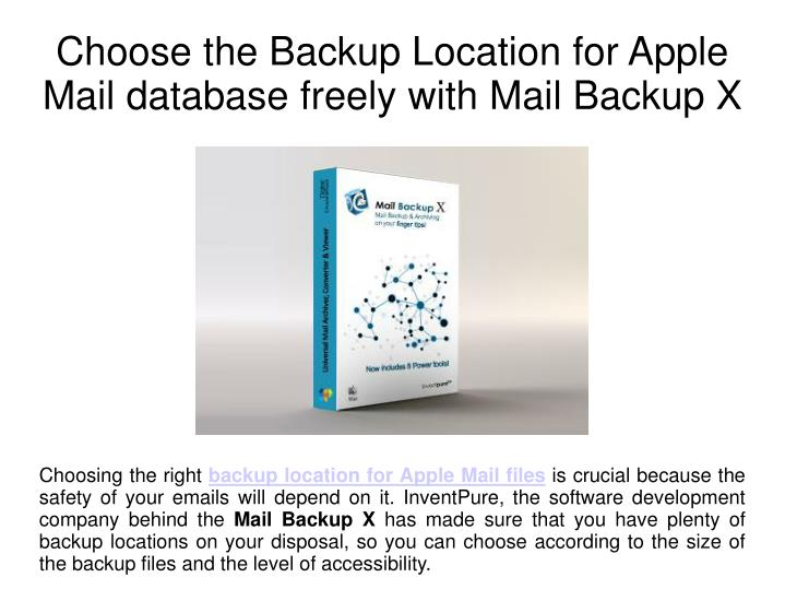 how to change apple backup location