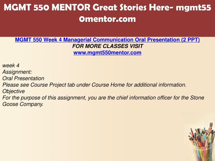 ramirez mgmt 550 course project busines
