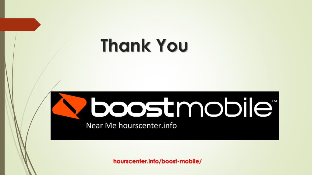 Boost Near Me >> Ppt Boost Mobile Near Me Boost Mobile Hourscenter Info