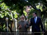 spanish prime minister mariano rajoy r and indian 6