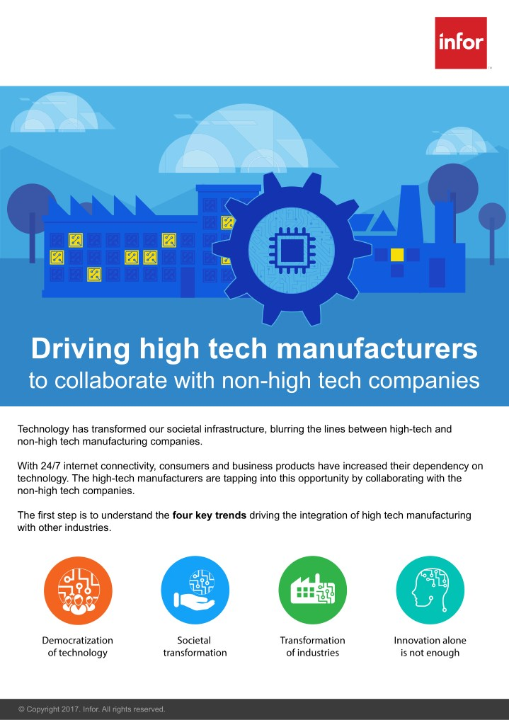 driving high tech manufacturers to collaborate n.