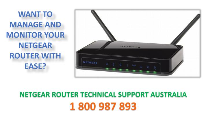want to manage and monitor your netgear router n.