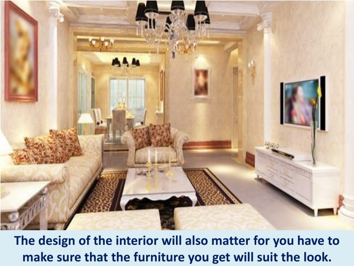 Ppt Tips In Choosing Living Room Furniture Furniture Rental Nyc Powerpoint Presentation Id