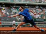 spain s marcel granollers in action during