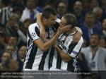 juventus mario mandzukic celebrates scoring their
