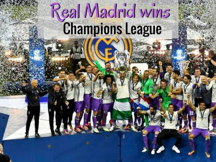 real madrid wins champions league n.