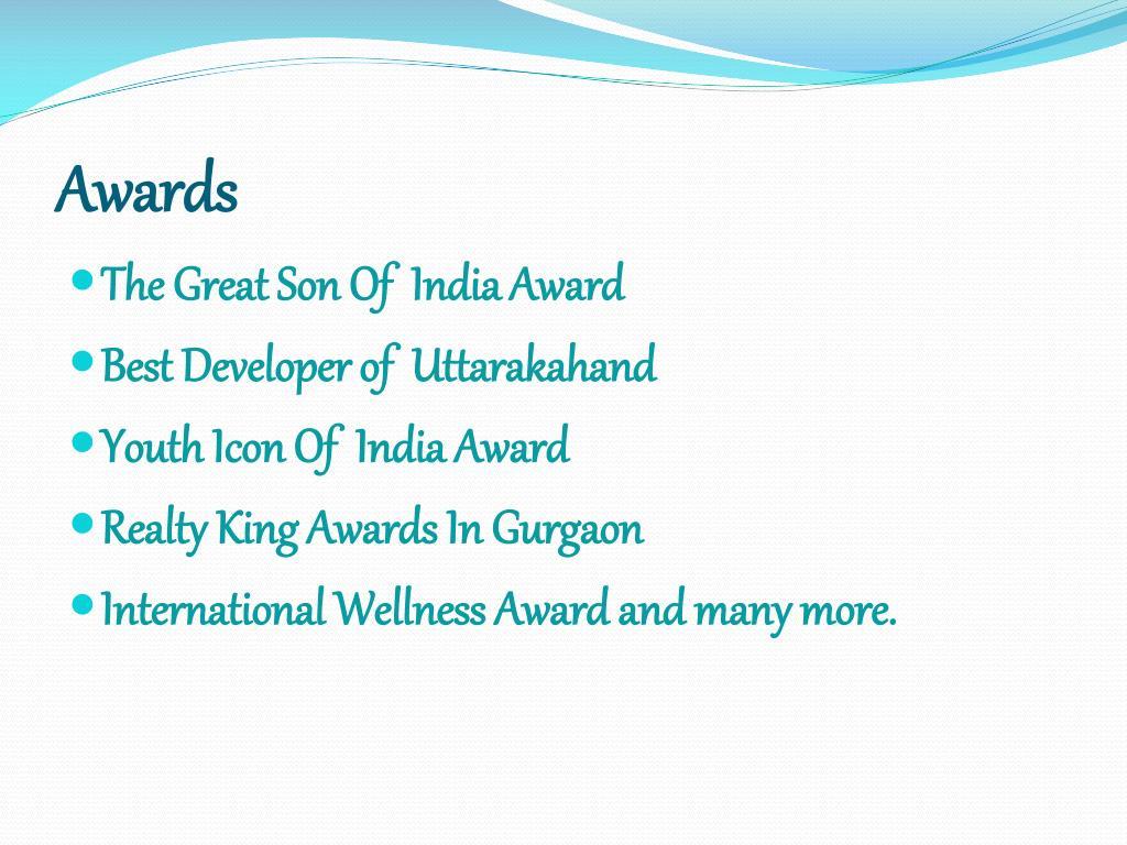 PPT - Biography Tushar Kumar GTM Group PowerPoint