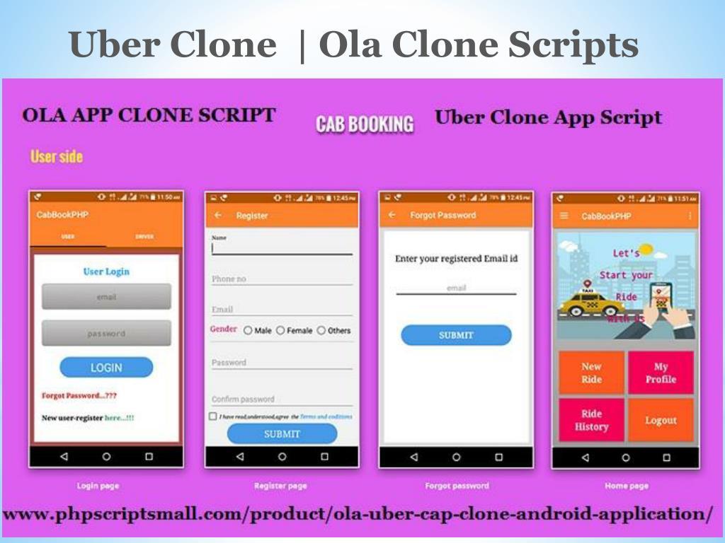 PPT - Uber clone app script | Uber clone | Ola clone | Ola app clone