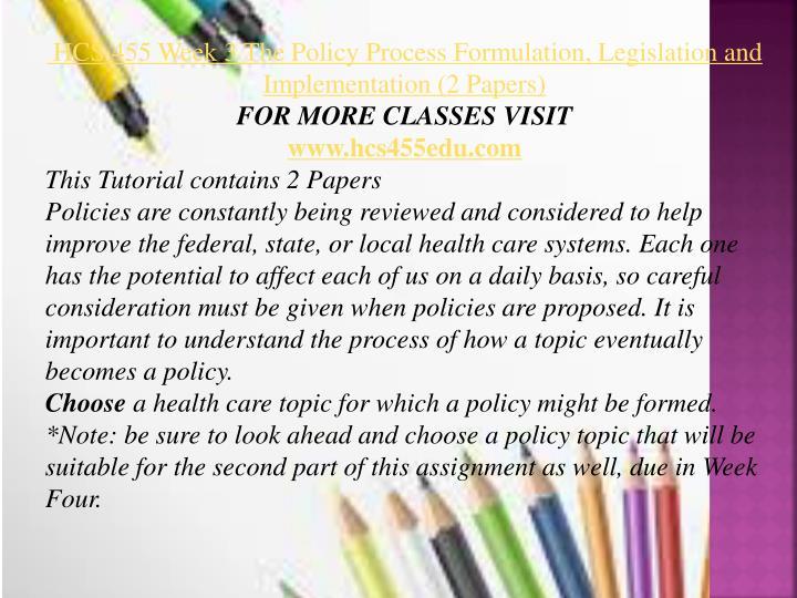 Public health care paper week 2 paper hcs 535