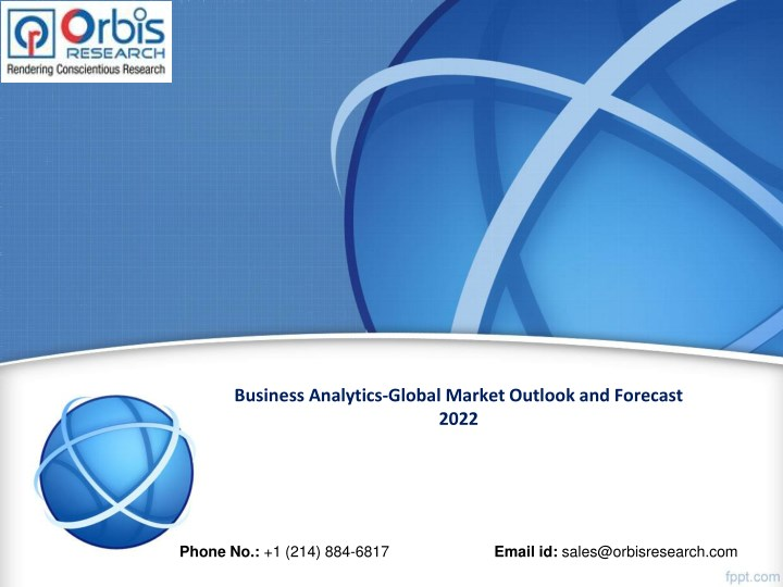 business analytics global market outlook n.