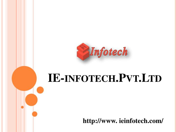 ie infotech pvt ltd n.