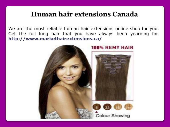 Ppt Ombre Hair Extensions Canada Powerpoint Presentation Id7599052