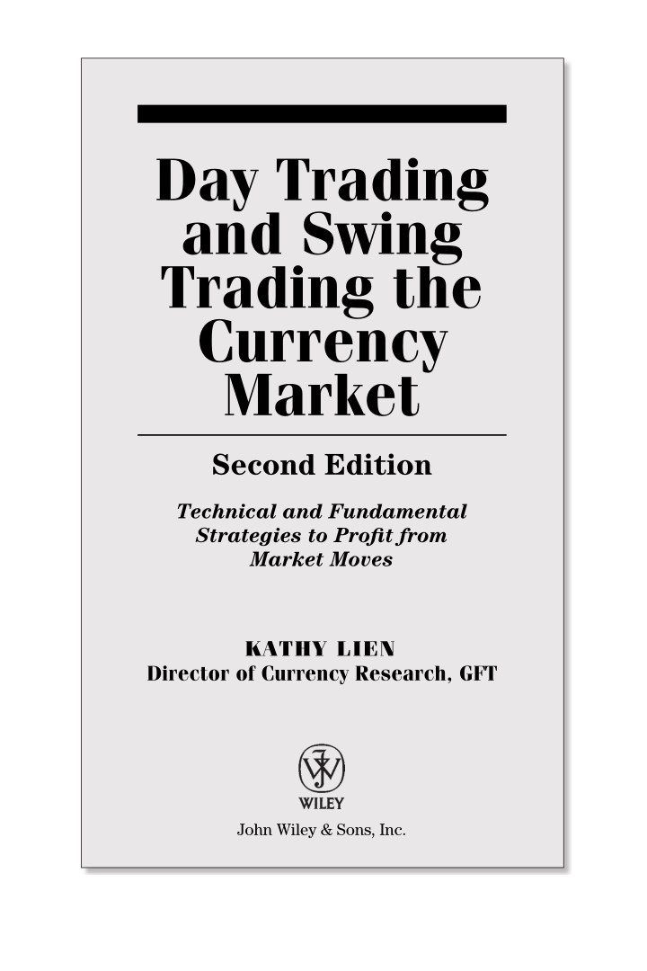 PPT - Day Trading & Swing Trading The Currency Market