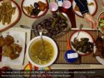 the zahran family dines on the iftar feast a meal
