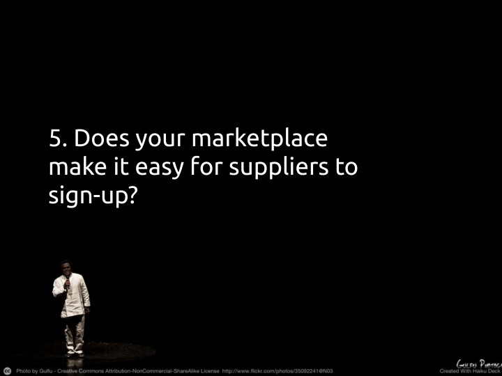 5. Does your marketplace
