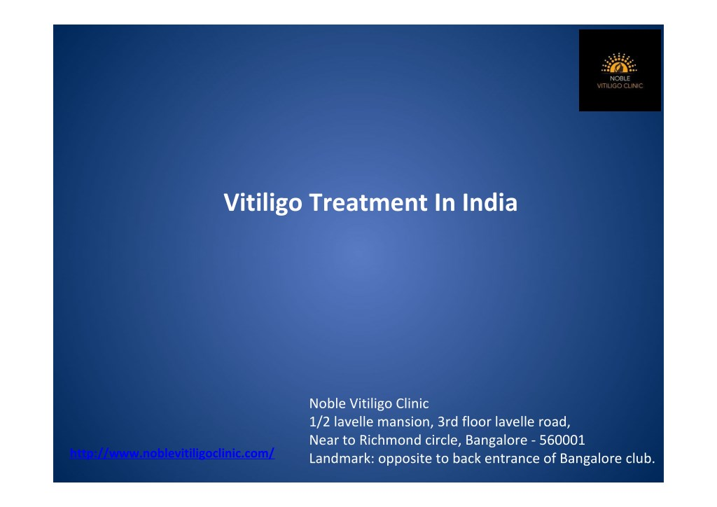 Ppt Top Doctors For Treating Vitiligo India Powerpoint Presentation Free Download Id 7600001