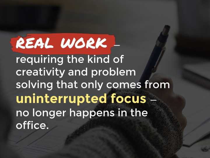 real work