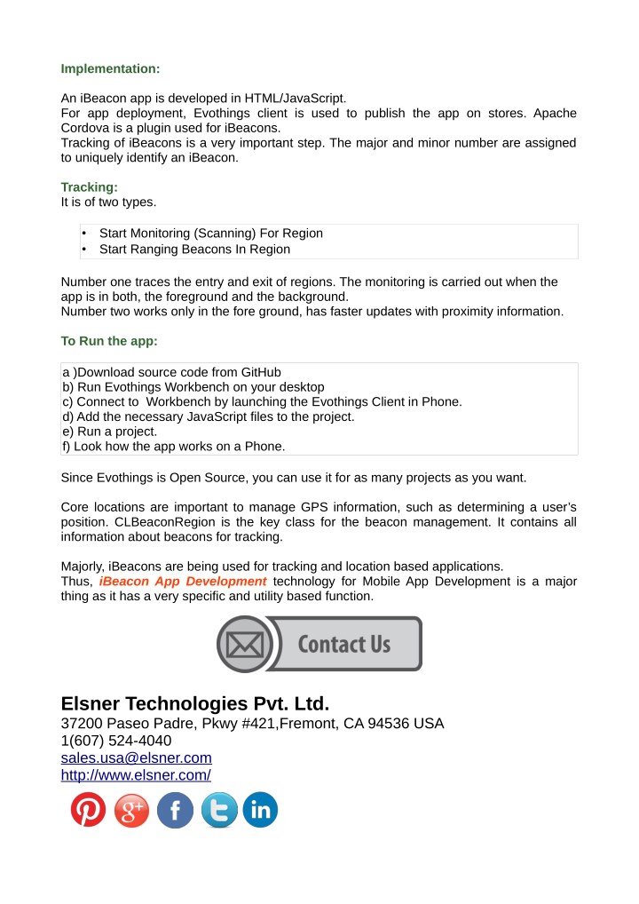 PPT - Get A Beacon App Development Services from Elsner