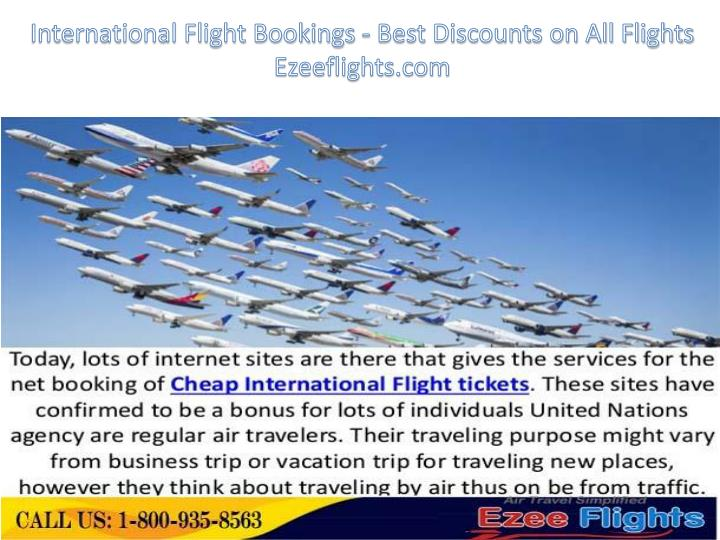 Best website for international flight deals