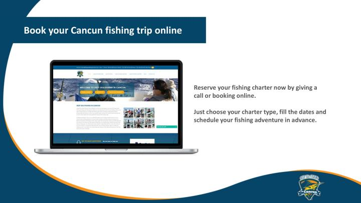 Book your Cancun fishing trip online