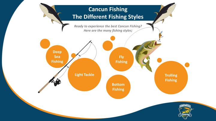 Cancun fishing the different fishing styles
