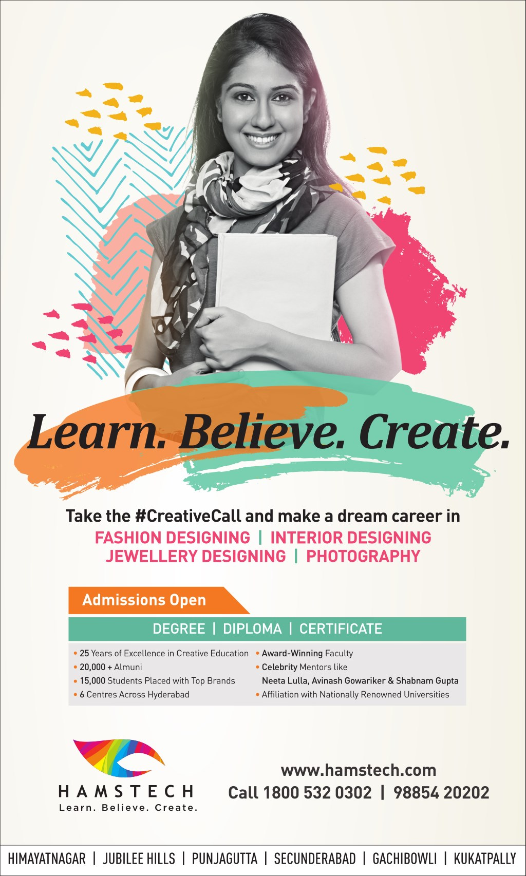 Ppt Your Creative Career Is Waiting At Hamstech Institute Join Now Powerpoint Presentation Id 7601346
