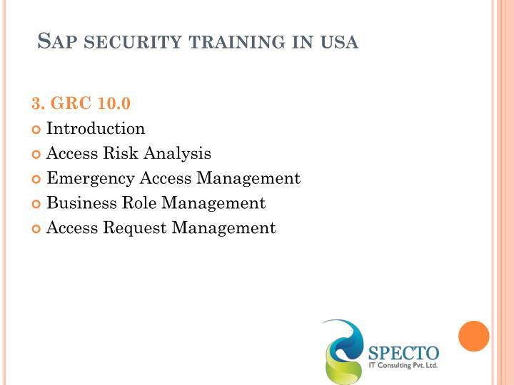 Ppt Sap Security Online Training Powerpoint Presentation