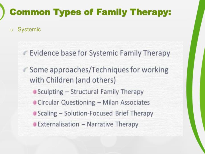 narrative therapy and family therapy essay A subtle difference between narrative and cognitive psychotherapy a subtle difference between narrative and cognitive narrative therapy is based in.