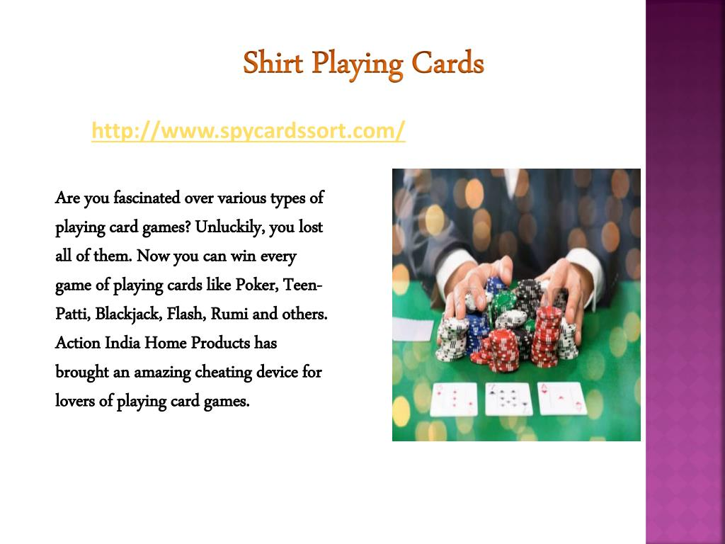 PPT - spy invisible playing cards contact lenses in Delhi