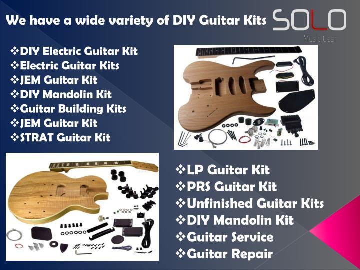 Ppt Diy Electric Guitar Kit Powerpoint Presentation Id7602636