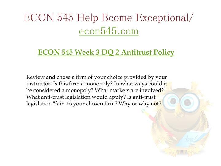 econ 312 week 3 anti trust Econ312 week 3 assignment anti trust case purchase from here:  econ 312 week 3 assignment anti-trust case.