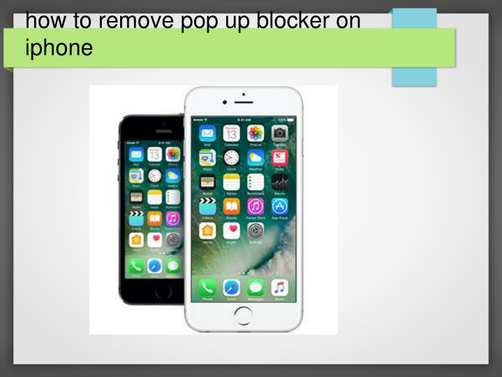 how to remove pop up ads on iphone
