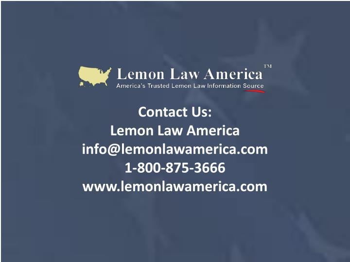 lemon law florida