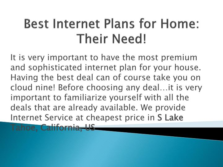 Ppt Best Internet Plans For Home Powerpoint Presentation