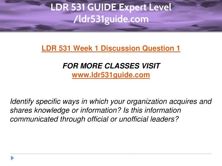 ldr 531 my leadership style Ldr 531 entire course organizational leadership homework lance online homework help ldr 531 week 3 individual leadership style.