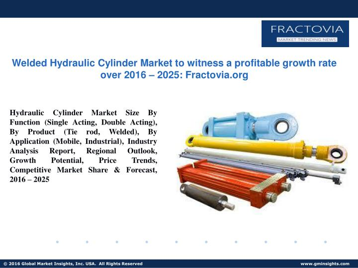 welded hydraulic cylinder market to witness n.