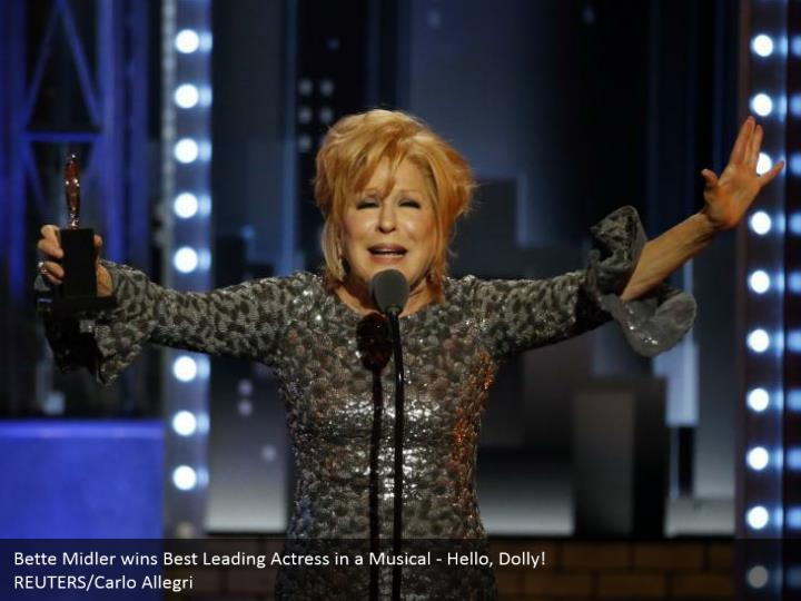 Bette midler wins best leading actress